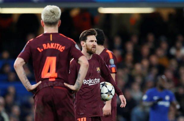 Willian 'tur' dedi, Messi engelledi!