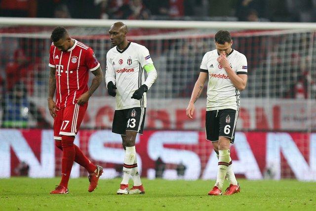 Bayern Münih Beşiktaş maçında Kara Kartal'ı Atiba yine yaktı!