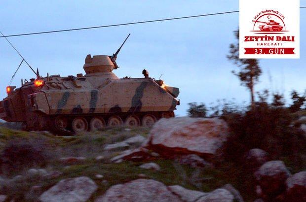 Afrin'de etkisiz hale getirilen terörist sayısı açıklandı