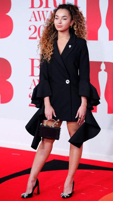 2018 Brit Ödülleri kırmızı halısı