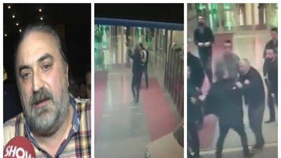 Volkan Konak'ın sahne aldığı mekanda kavga