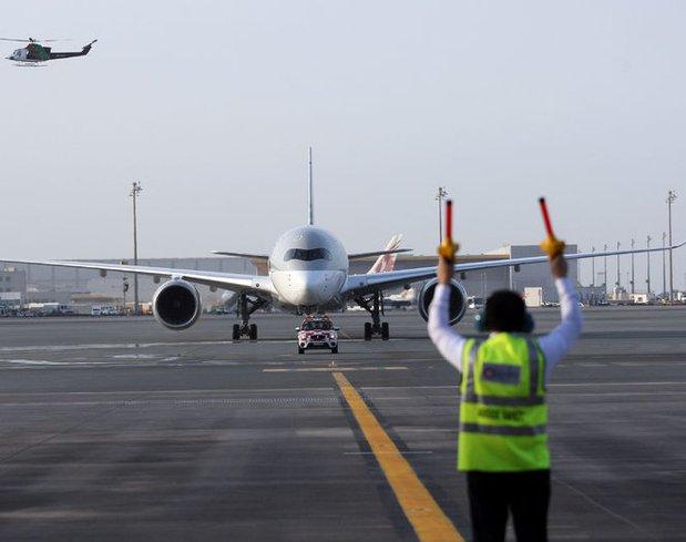 Dünyanın en güçlü uçağı Katar'da