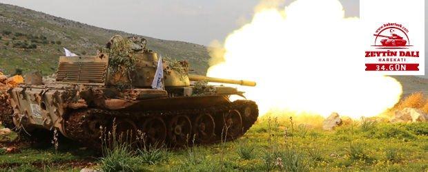 TSK, Zeytin Dalı Harekatı'nda etkisiz hale getirilen terörist sayısını açıkladı