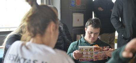 Beşiktaşlı kadın basketbolcular down sendromlu çocuklarla buluştu