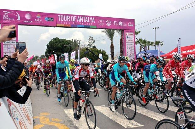 Antalya'nın yeni turu Tour of Antalya başladı