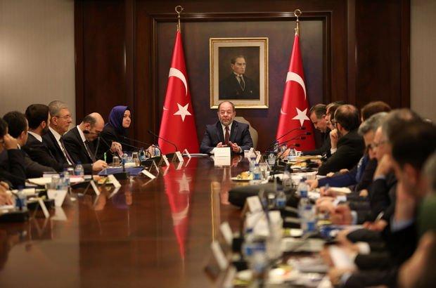 6 bakanlı komisyondan 6 saatlik toplantı