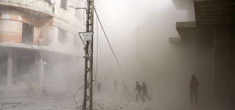 Doğu Guta'da hava saldırılarının 5. günü: 370 ölü