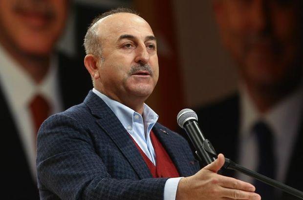Dışişleri Bakanı Çavuşoğlu'ndan YPG/PKK propagandasına tepki