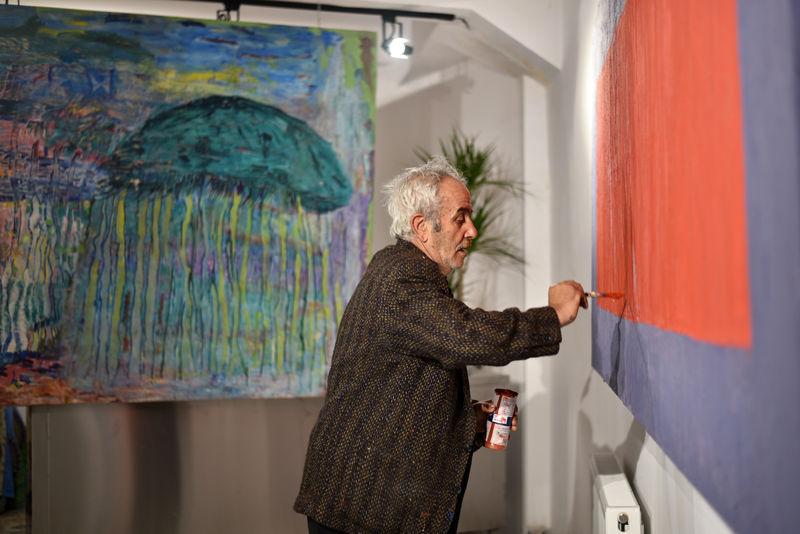 Ressam Avni Akmehmedoğlu Bir Günde 10 15 Resim Yaptığım Oluyor