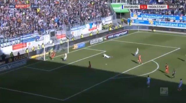 Duisburg-Ingolstadt maçında ne oldu? Bundesliga'da inanılmaz olay!