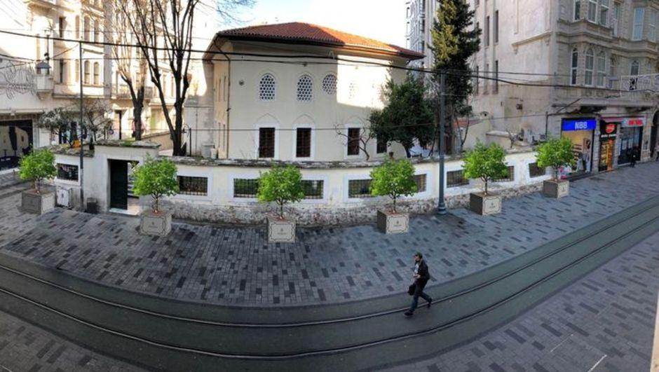 İstiklal Caddesi için peyzaj çalışması başlıyor