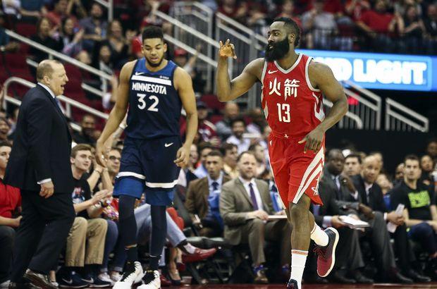 Houston Rockets'in galibiyet serisi sürüyor