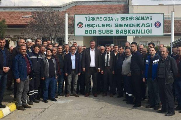CHP'li Gürer'den şeker fabrikalarının özelleştirilmesi ile ilgili açıklama