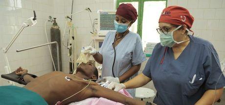 Etiyopya'nın Afar bölgesinde Türk doktorlardan bir ilk!