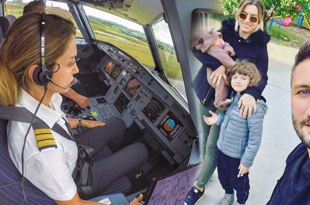 Pilot anne doğum izninde