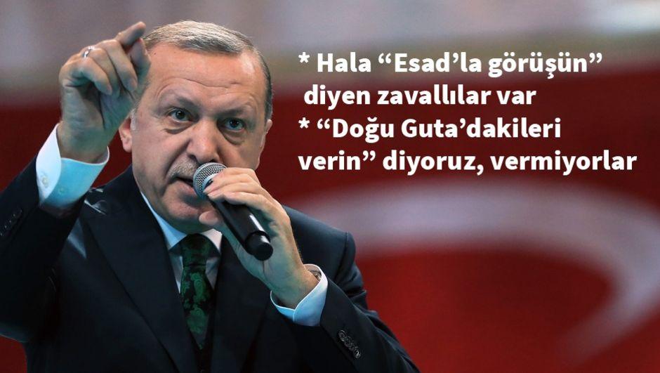 Erdoğan: Sefer görev emri çıktığı anda önce ben sonra millet