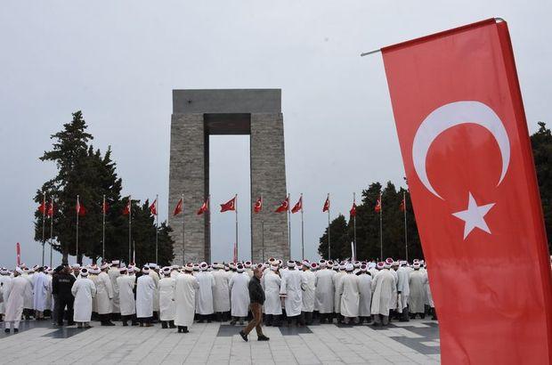 Din görevlileri Çanakkale'de Mehmetçik için dua etti