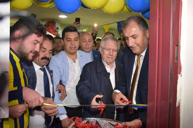 Aziz Yıldırım, Aksaray'da açılışa katıldı