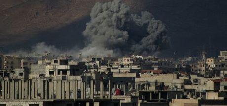Flaş... Esed rejimi Doğu Guta'ya saldırdı! 32 ölü