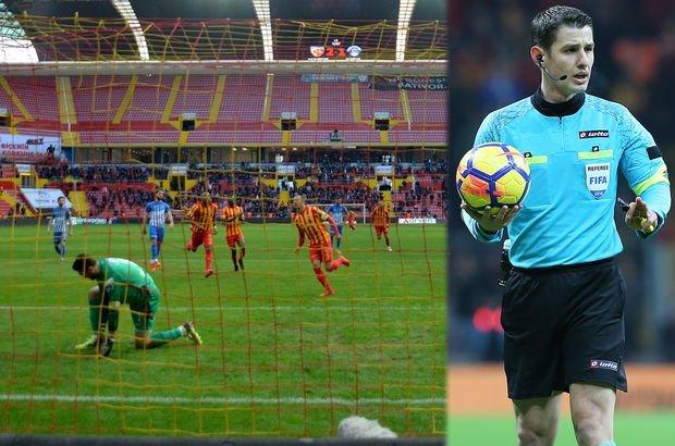 Bülent Yavuz'dan, Kayserispor-Kasımpaşa maçının hakemi Halil Umut Meler'e eleştiri
