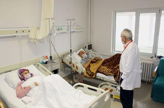 Samsun'da yaşayan Zeynep Cebi, eşi Resul Cebi'ye böbreğini bağışladı