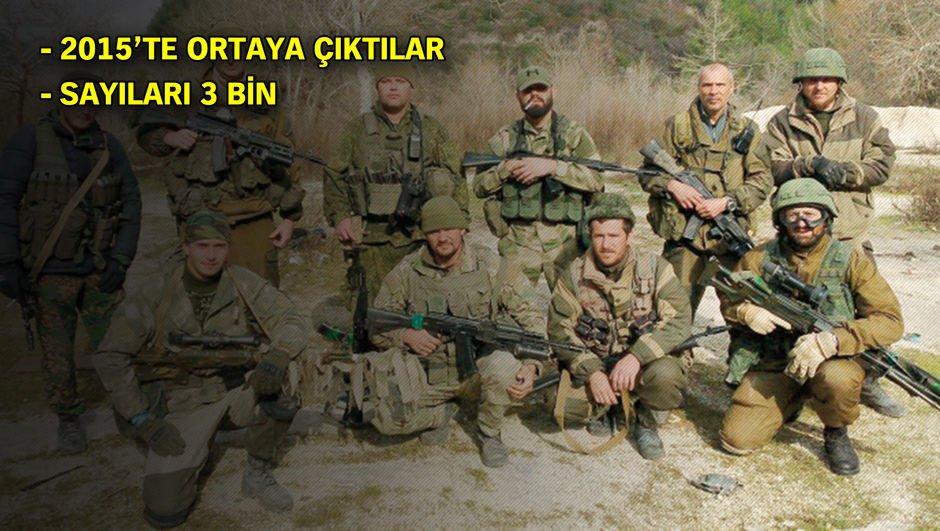 Putin'in paralı askerleri: Wagner