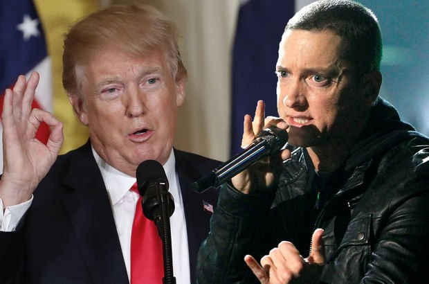 Eminem: Donald Trump mı ben mi? - Magazin haberleri