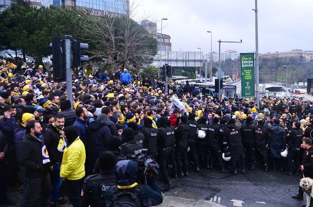 Beşiktaş - Fenerbahçe derbisinde 41 taraftar hakkında yasal işlem