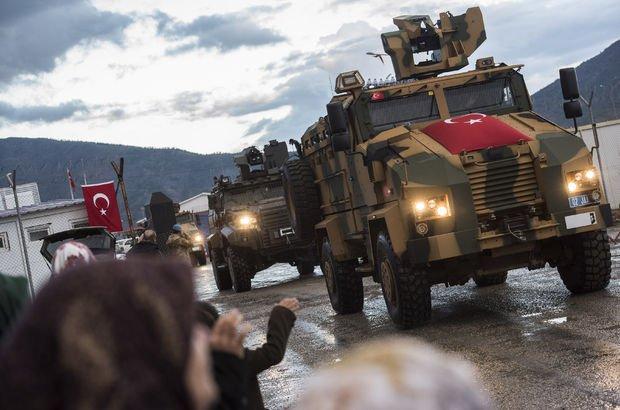 JÖH ve PÖH özel timleri Afrin'e girdi (Son dakika haberi)