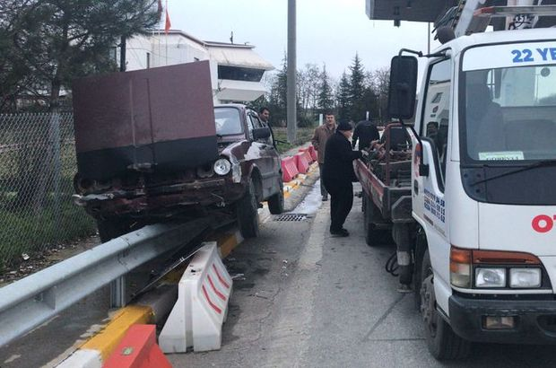 Edirne'de şaşırtan görüntü! Gişeleri kaçırınca...