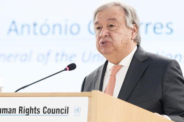Guterres'ten nükleer silahlara ilişkin 'yeni girişim' açıklaması