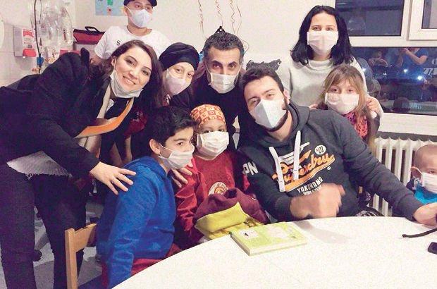Lösemi hastası Ahmet Buğra'nın hayali gerçek oldu