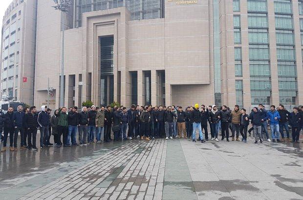 Stada meşale sokan Fenerbahçe taraftarları serbest