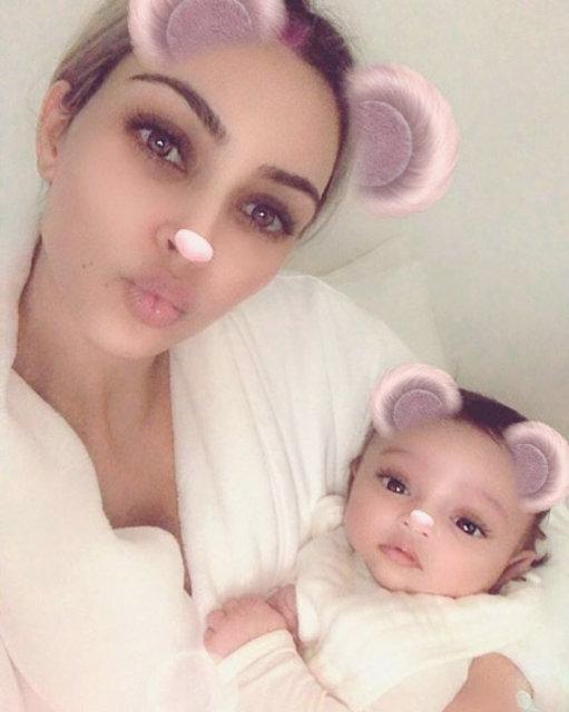 Kim Kardashian, Chicago bebekle ilk pozu verdi - Magazin haberleri
