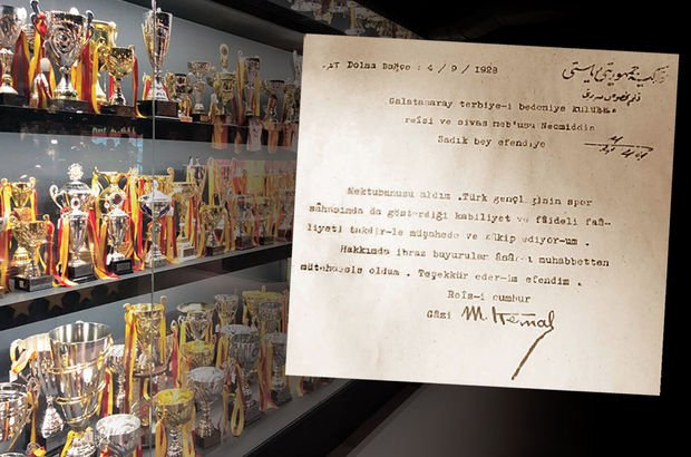 Galatasaray'ın müzesindeki Atatürk imzalı mektup şaibeli