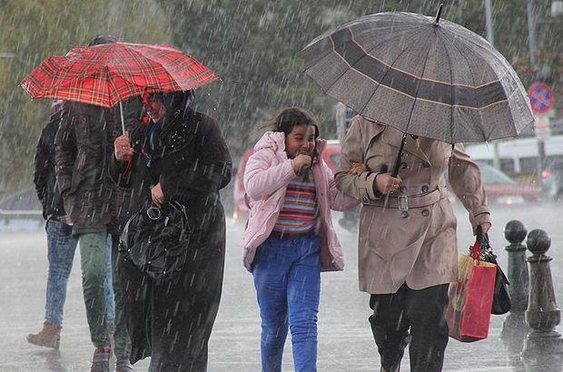 Meteoroloji uyardı: Kuvvetli yağış, rüzgar, don, kar... (Hava Durumu)