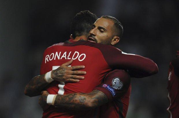 Beşiktaş - Fenerbahçe derbisi sonrası; Ronaldo'dan Quaresma'ya telefon