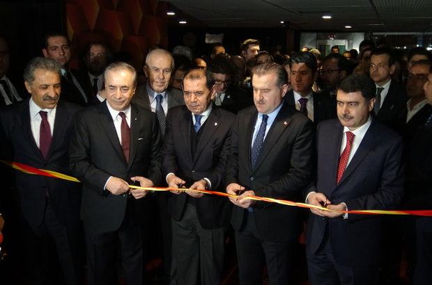 Galatasaray Müzesi açıldı