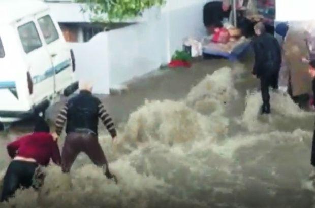 Aydın'da şiddetli yağış sonrası oluşan selde can pazarı yaşandı