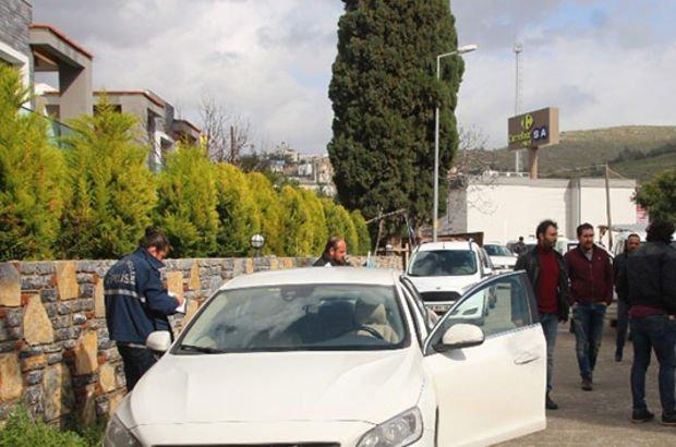 Bodrum'da otomobilin bagajından servet çaldılar