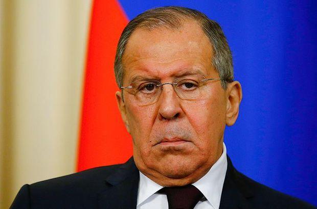 Rusya Dışişleri Bakanı Lavrov'dan ABD'ye nükleer silah suçlaması