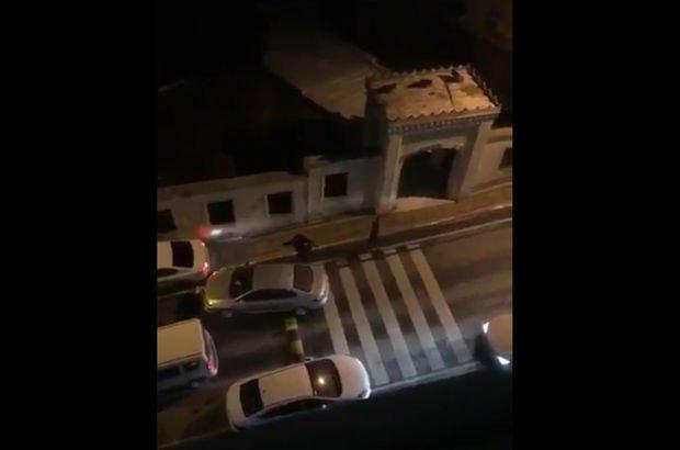 Başakşehir'de hırsızlarla polisler çatıştı