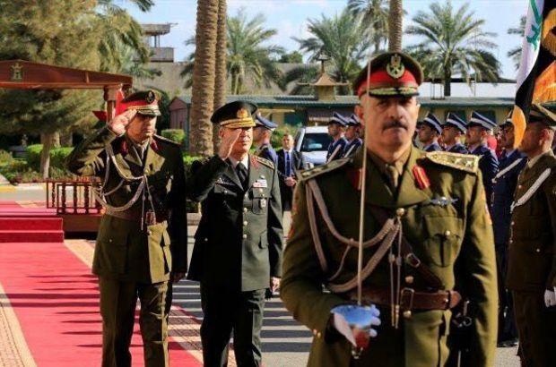 Son dakika! Genelkurmay Başkanı Akar'dan Irak'a sürpriz ziyaret