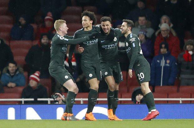 Arsenal Manchester City | MAÇ SONUCU