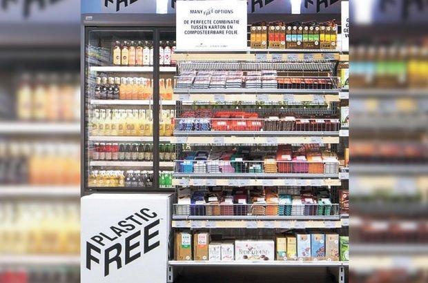 Dünyanın ilk plastiksiz marketi