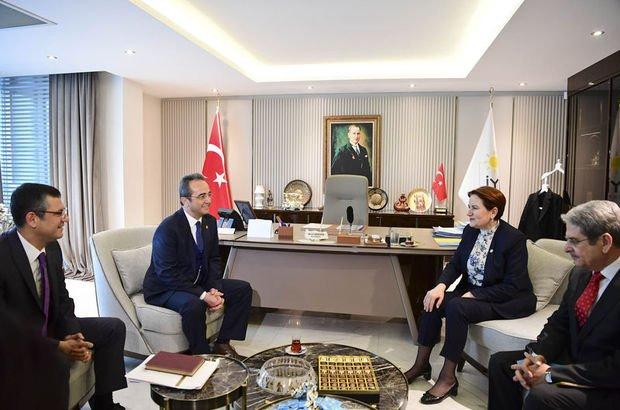 CHP heyeti, İYİ Parti Genel Başkanı Meral Akşener ile görüştü