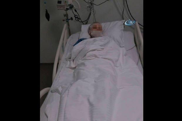 İstanbul'da şiddet! Kanserli eşini darp etti