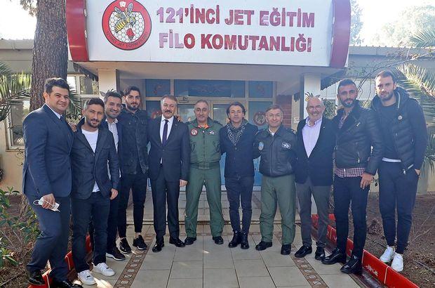 Göztepe'den 121. filoya ziyaret
