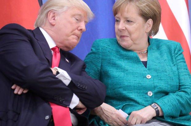 Merkel ve Trump, Putin'in yeni silahlarını konuştu!
