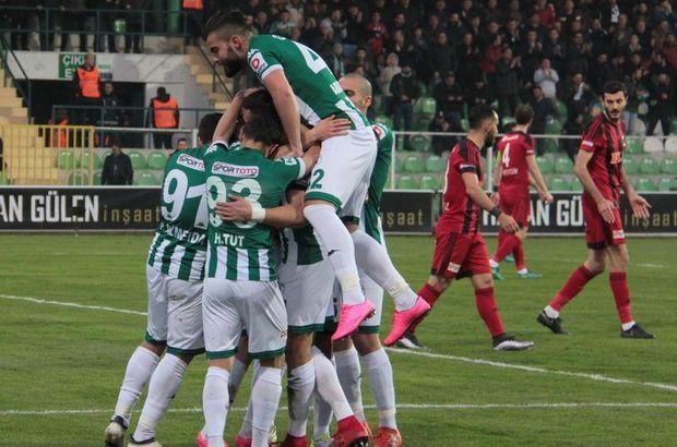 Akın Çorap Giresunspor: 4 - Gazişehir Gaziantep: 1